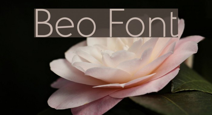 Beo Font examples