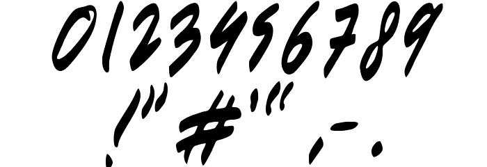 Berantas Korupsi لخطوط تنزيل حرف أخرى