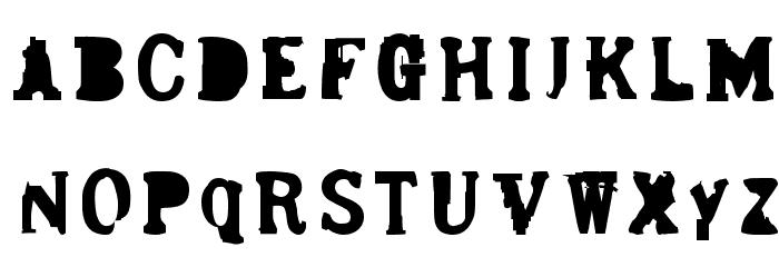Bergmark फ़ॉन्ट अपरकेस