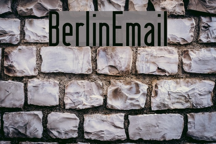 BerlinEmail Polices examples