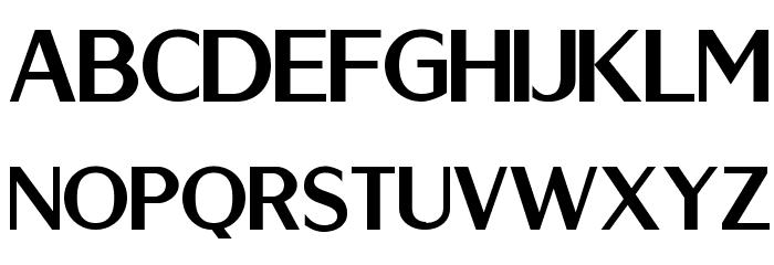 Berlina Bold Font UPPERCASE