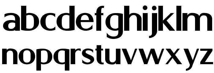 Berlina Bold Font LOWERCASE