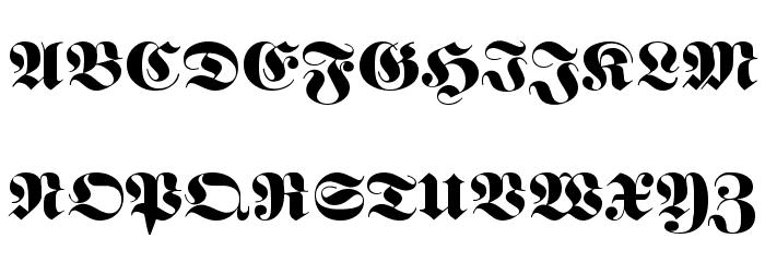 Berliner Font UPPERCASE