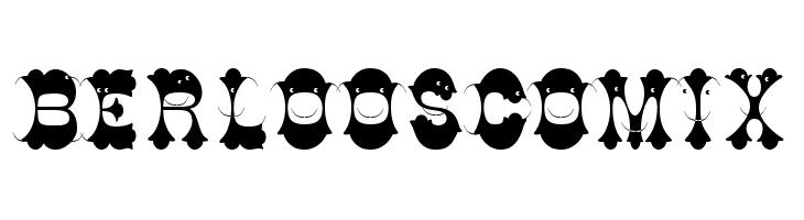 BerloosComix  les polices de caractères gratuit télécharger