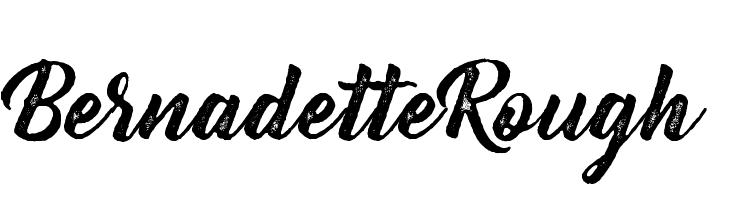 Bernadette Rough  Скачать бесплатные шрифты