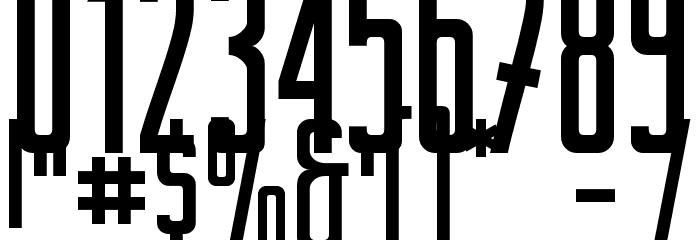BertaDrug Font OTHER CHARS