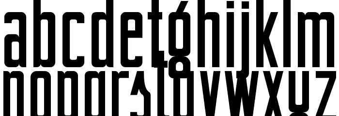 BertaDrug Font LOWERCASE