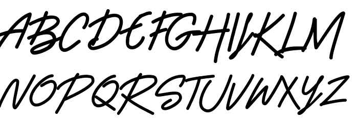 Beshiny Font Litere mari