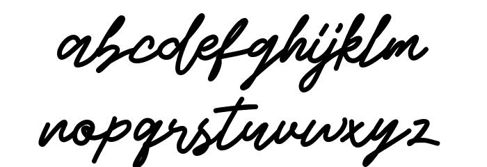 Beshiny Font Litere mici