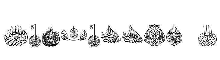 Besmellah 2  Free Fonts Download