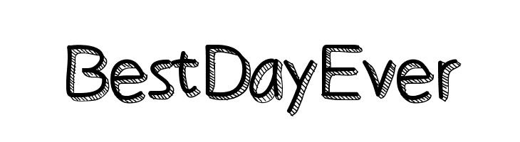 BestDayEver  Free Fonts Download