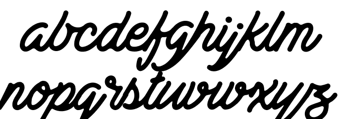 Bestters Supply Demo Font LOWERCASE