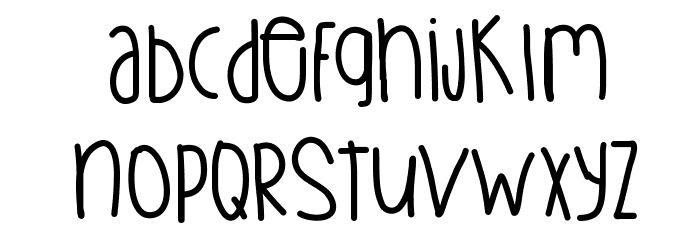 BetterGreatgood Font LOWERCASE