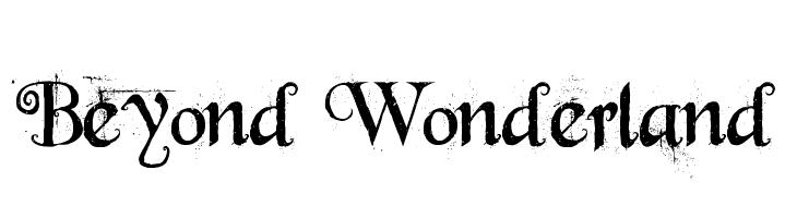 Beyond Wonderland  baixar fontes gratis