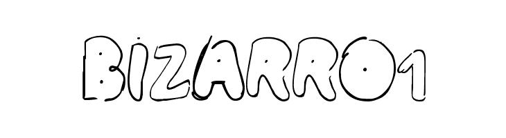 BIZARRO1  Free Fonts Download