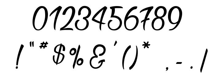 Bichette Шрифта ДРУГИЕ символов