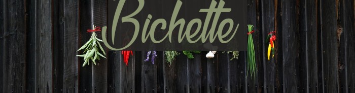 Bichette Шрифта examples