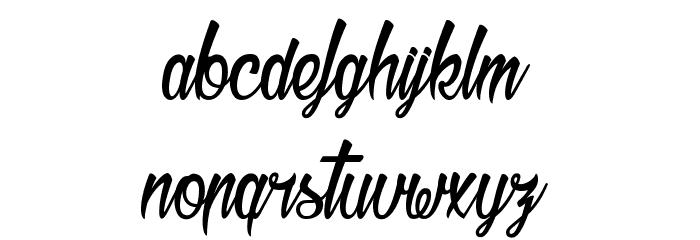 Bichette Шрифта строчной