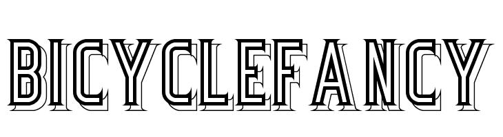 BicycleFancy  免费字体下载