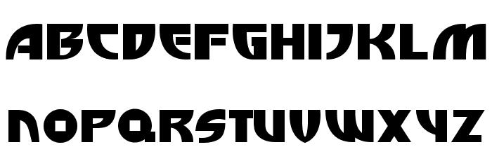 Big Hero 6  Regular Font UPPERCASE