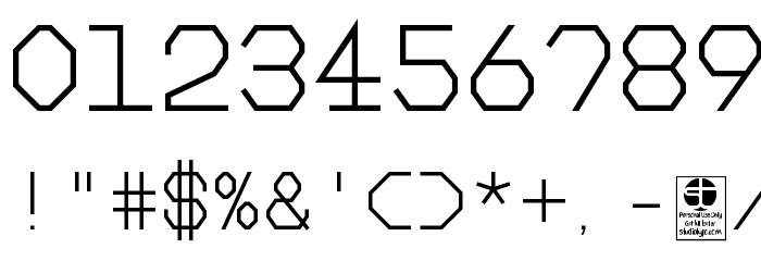 Big Pixel Light Demo Font OTHER CHARS
