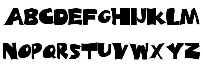 Big Truck Font LOWERCASE