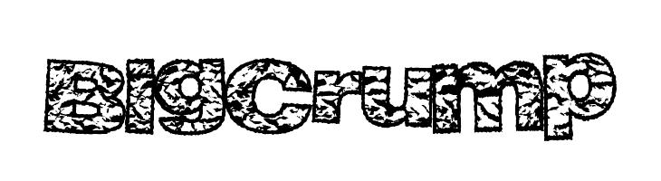 BigCrump  font caratteri gratis
