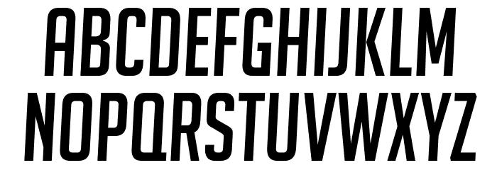 BigNoodleTitling Oblique फ़ॉन्ट लोअरकेस