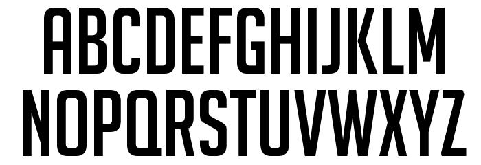 BigNoodleTitling Font LOWERCASE