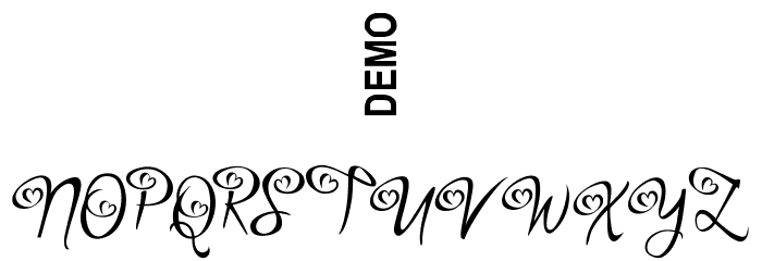 Bigdey Demo Font OTHER CHARS