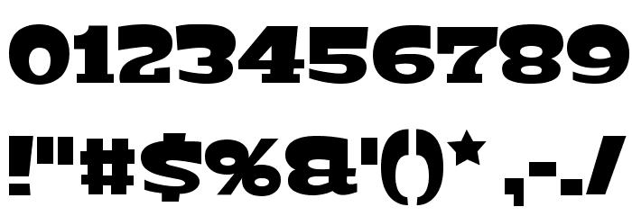 Bigfish Black Font OTHER CHARS