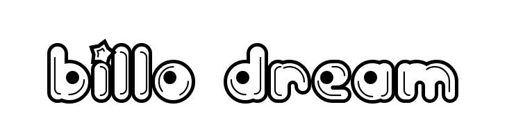 Billo Dream  नि: शुल्क फ़ॉन्ट्स डाउनलोड