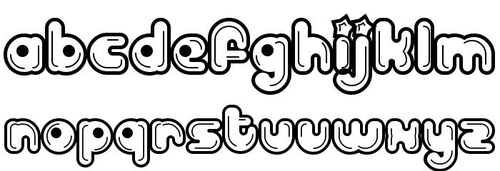 Billo Dream Font LOWERCASE