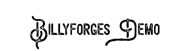 Billyforges Demo  Descarca Fonturi Gratis