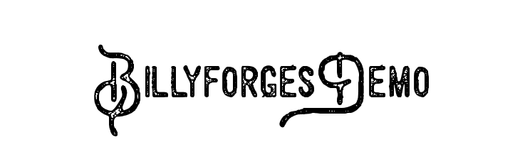 BillyforgesDemo  Free Fonts Download