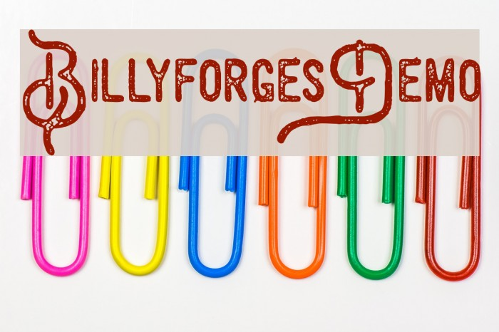 BillyforgesDemo Polices examples