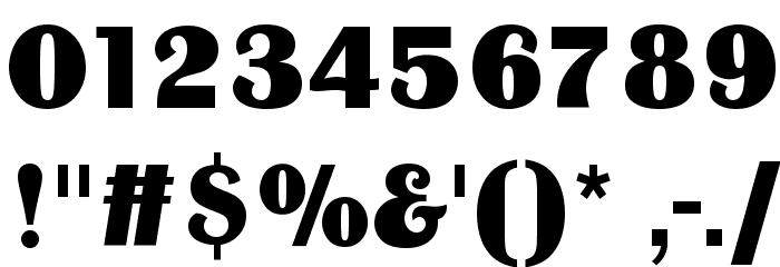 BinnerD Font OTHER CHARS