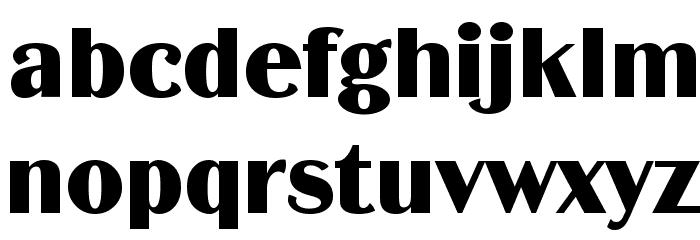 BinnerD Font LOWERCASE