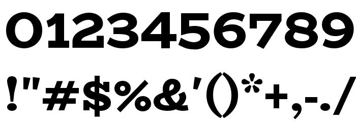 BioRhyme ExtraBold Font OTHER CHARS