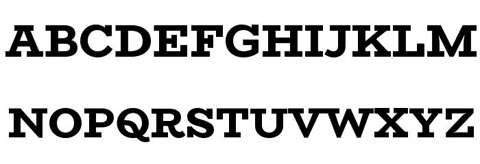 BioRhyme ExtraBold Font UPPERCASE