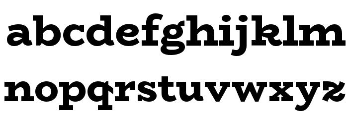 BioRhyme ExtraBold Font LOWERCASE