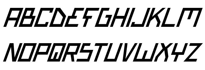 Bionic Type Italic Шрифта строчной