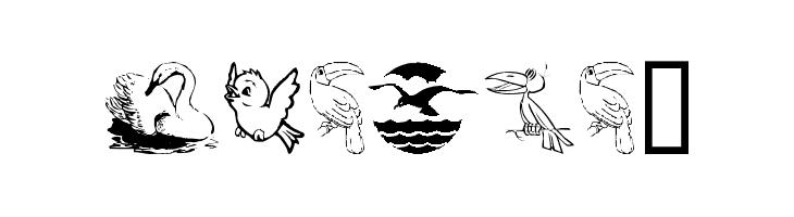 BirdArt  नि: शुल्क फ़ॉन्ट्स डाउनलोड