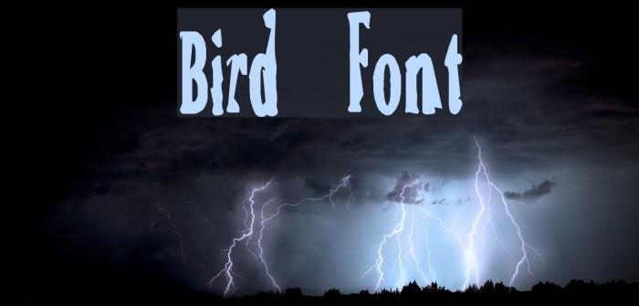 Bird फ़ॉन्ट examples