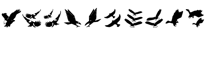BirdsInHeaven Font OTHER CHARS
