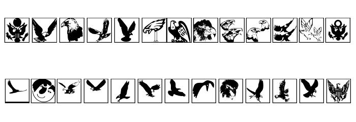 BirdsInHeaven Font LOWERCASE