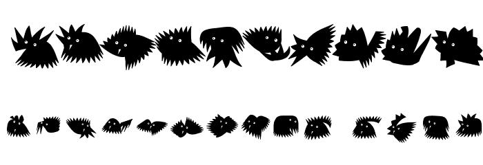 Birrrdds Шрифта ДРУГИЕ символов