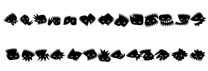Birrrdds Шрифта строчной