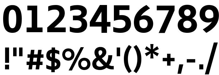 Biryani Bold Font OTHER CHARS