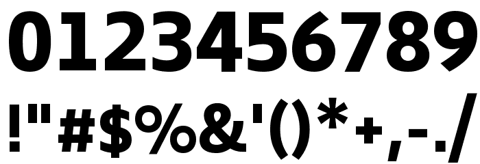 Biryani ExtraBold Font OTHER CHARS